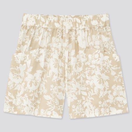 Damen Joy of Print Cargo-Shorts aus Baumwoll-Popeline
