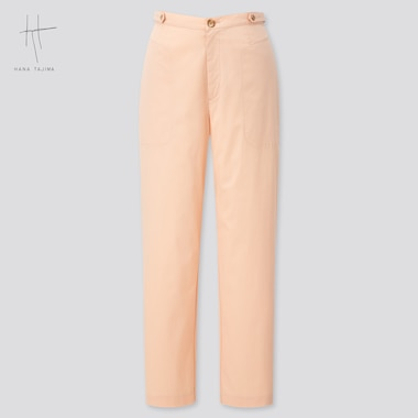 Women Tapered Ankle Pants (Hana Tajima) (Online Exclusive), Pink, Medium