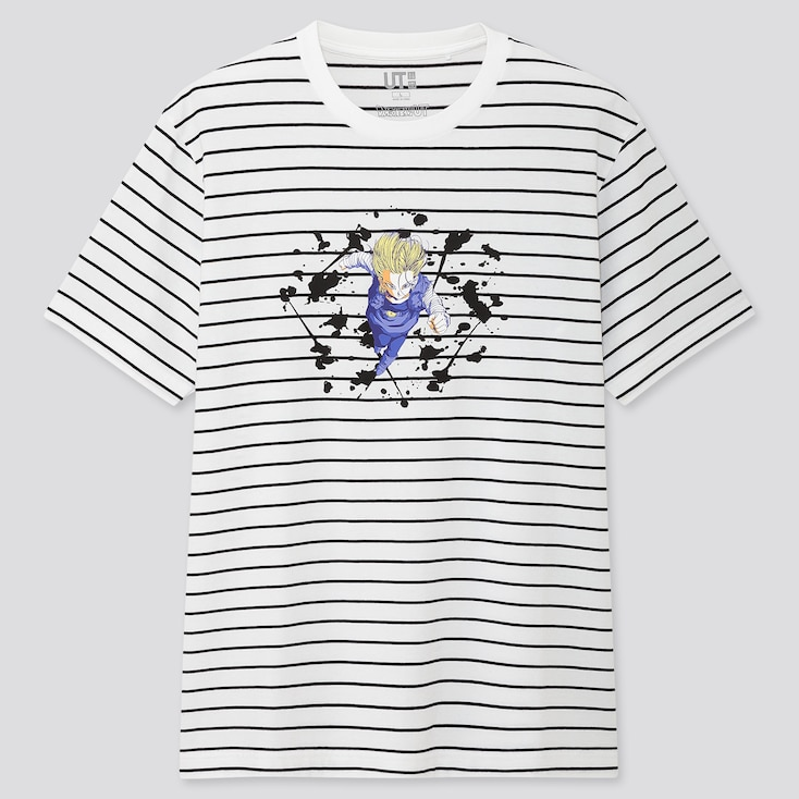 Dragon Ball Ut (short-sleeve Graphic T-shirt), White, Large