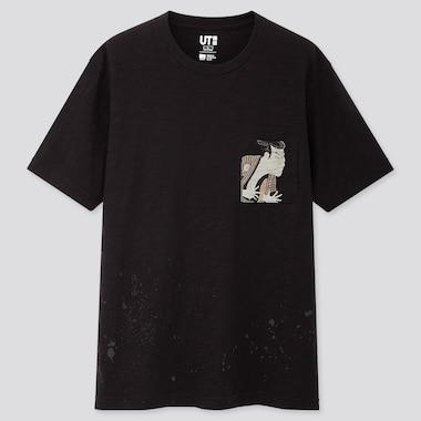 Men Edo Ukiyo-e UT Graphic T-Shirt