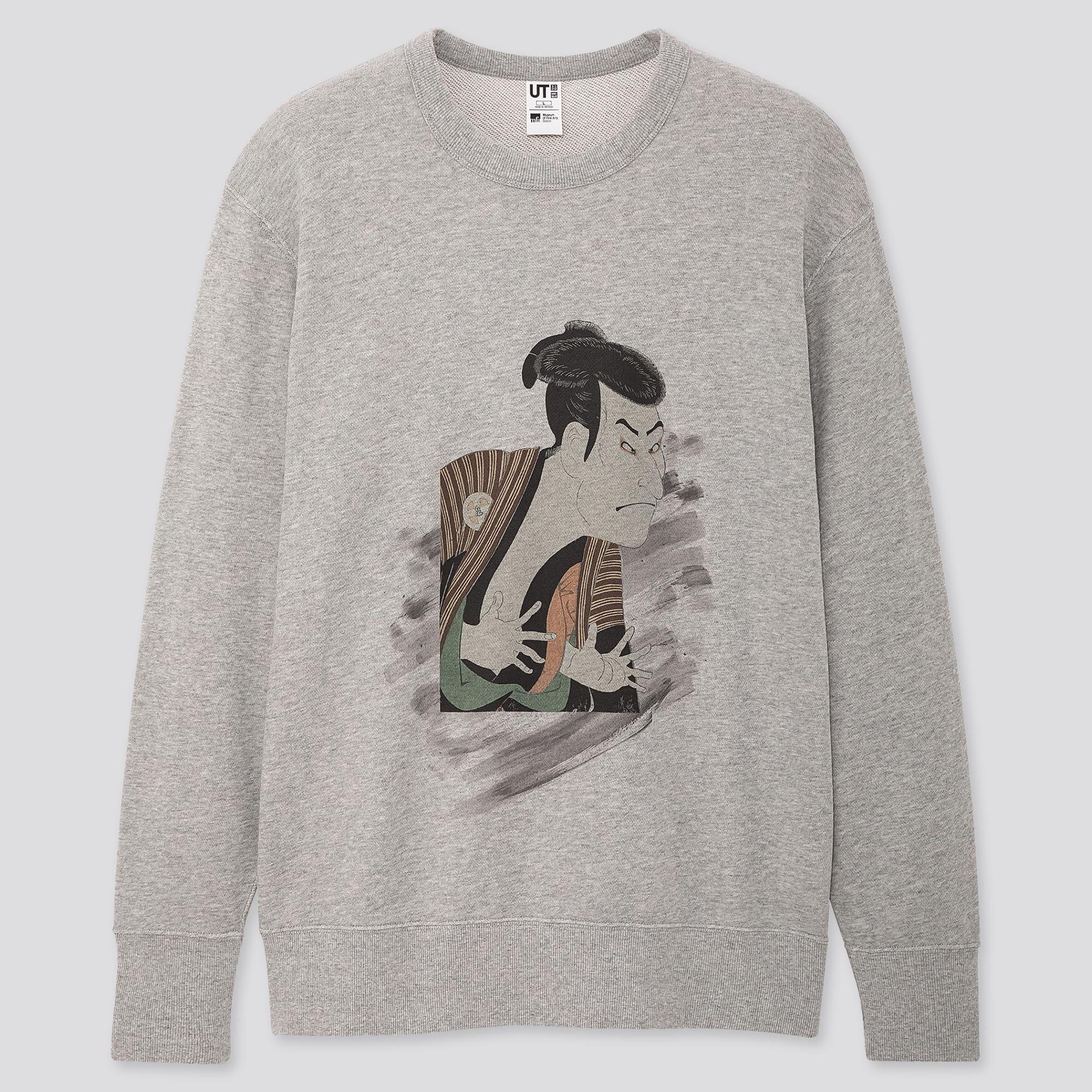 Men Edo Ukiyo-e UT Graphic Sweatshirt