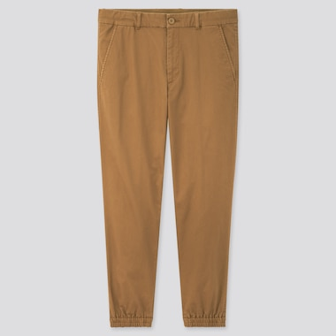 Men Ezy Slim-Fit Jogger Pants, Brown, Medium