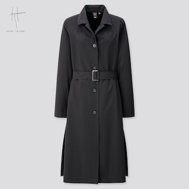 Women Coat (Hana Tajima) (Online Exclusive), Black, Medium