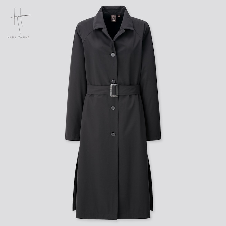 Women Coat (Hana Tajima) (Online Exclusive), Black, Large
