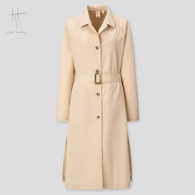 Women Coat (Hana Tajima) (Online Exclusive), Beige, Medium