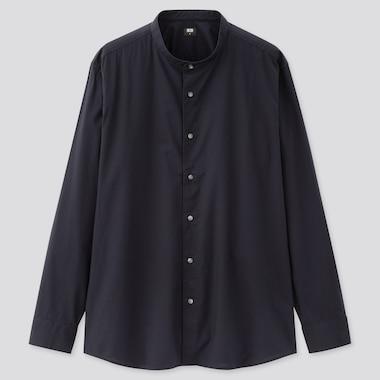 Herren Hemd aus extra-feiner Baumwolle mit Stehkragen