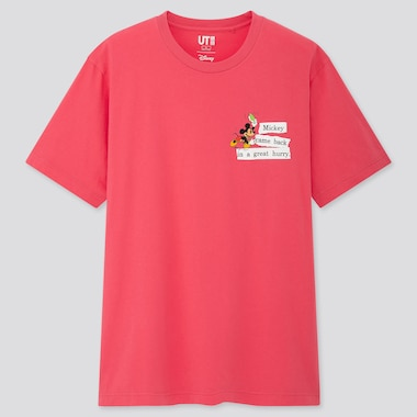 Disney Stories Ut (Short-Sleeve Graphic T-Shirt), Pink, Medium