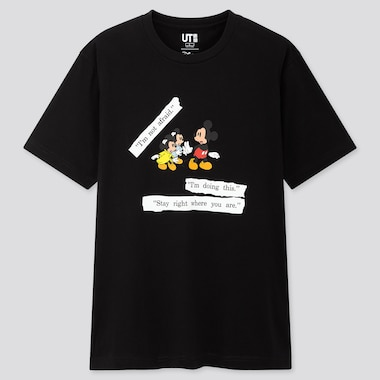 Disney Stories Ut (Short-Sleeve Graphic T-Shirt), Black, Medium
