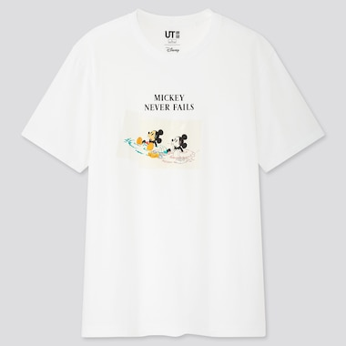 Disney Stories Ut (Short-Sleeve Graphic T-Shirt), White, Medium