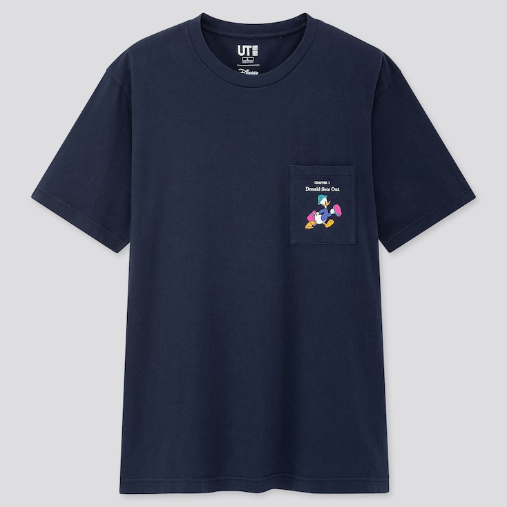 Disney Stories Ut (Short-Sleeve Graphic T-Shirt), Navy, Large