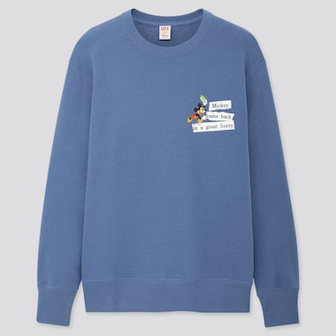 Disney Stories Long-Sleeve Sweatshirt, Blue, Medium