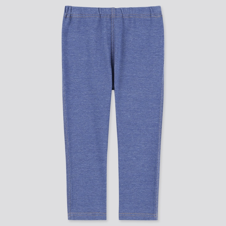Baby Full-Length Leggings, Blue, Large
