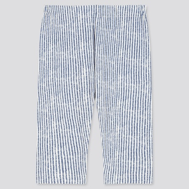 Babies Toddler Chambray Cropped Leggings