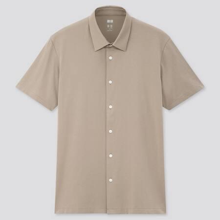 Men AIRism Jersey Polo Shirt