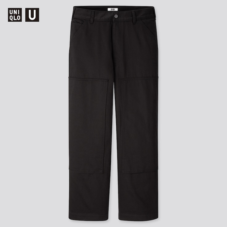 Men U Work Straight Pants, Black, Large