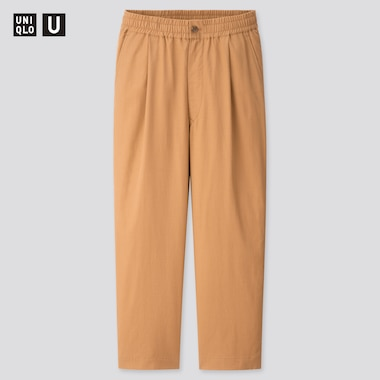 Men Uniqlo U Relaxed Wide Fit Trousers