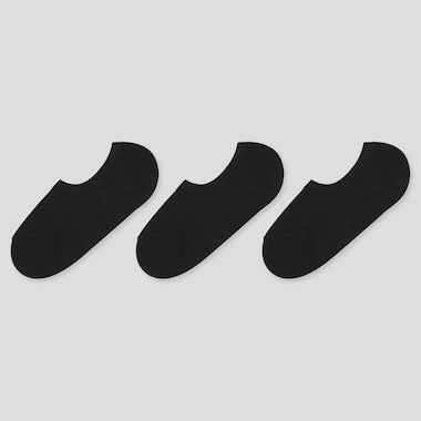 Women Mesh Invisible No-Show Socks (Three Pairs)