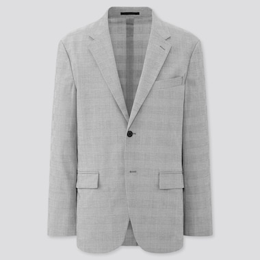 Herren Gemusterter Ultra Light Blazer
