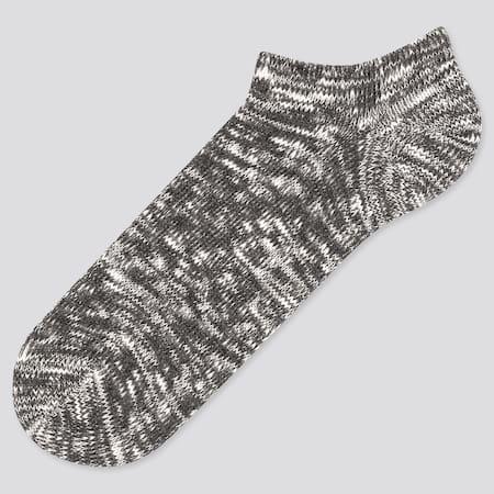 Men Heather Ankle Socks