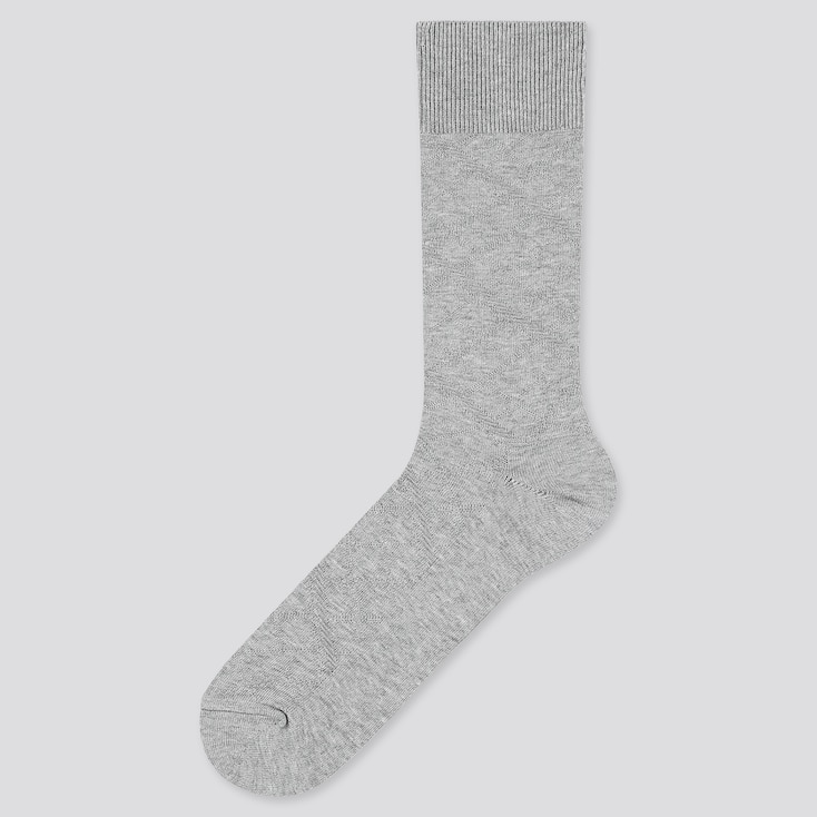 Men Supima Cotton Links Socks, Gray, Large