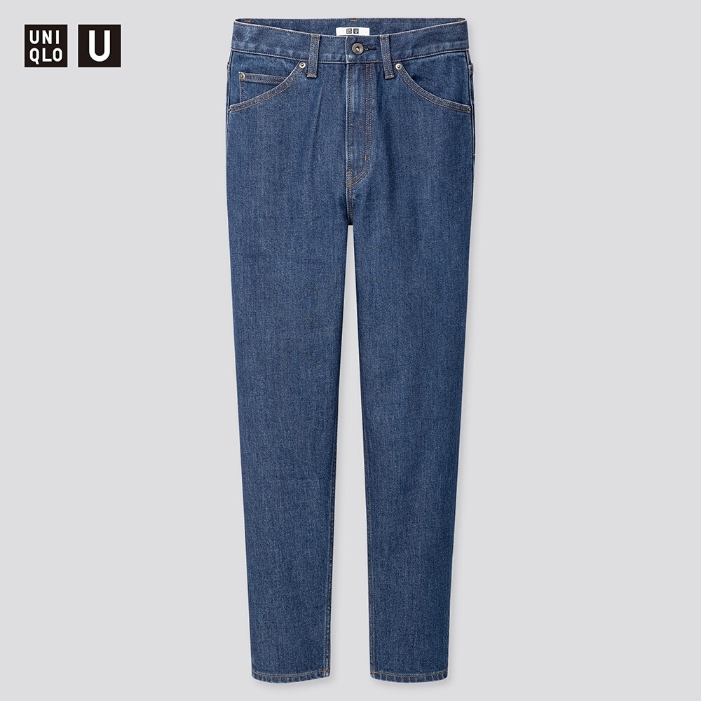 WOMEN UNIQLO U SLIM FIT TAPERED ANKLE LENGTH JEANS