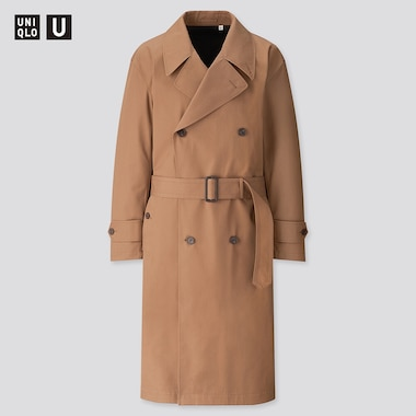 Men Uniqlo U BLOCKTECH Trench Coat