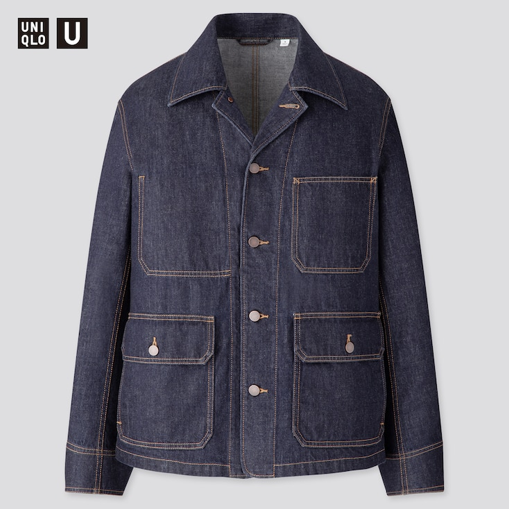 Men's Vintage Jackets & Coats MEN U DENIM WORK JACKET $59.90 AT vintagedancer.com