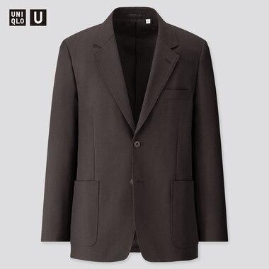 Men U Tailored Jacket, Black, Medium