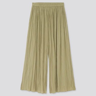 Women Washer Satin Skirt Trousers