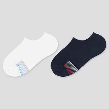 Kids Short Socks (2 Pairs), White, Medium