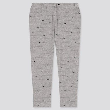 Baby Full-Length Leggings, Gray, Medium