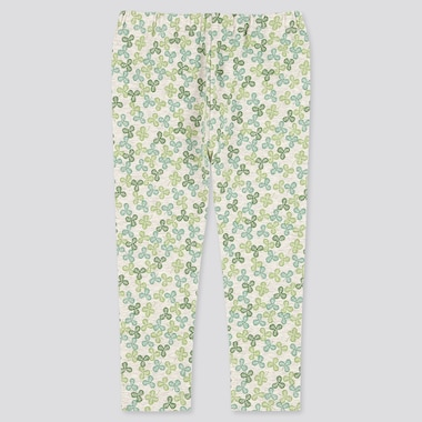 Baby Full-Length Leggings, Green, Medium
