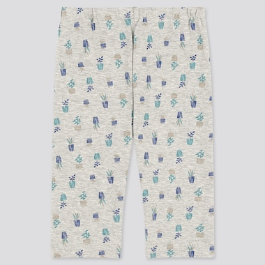 Babies Toddler Garden Printed Cropped Leggings