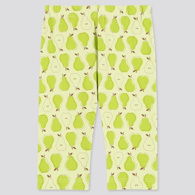 Babies Toddler Fruit Printed Cropped Leggings