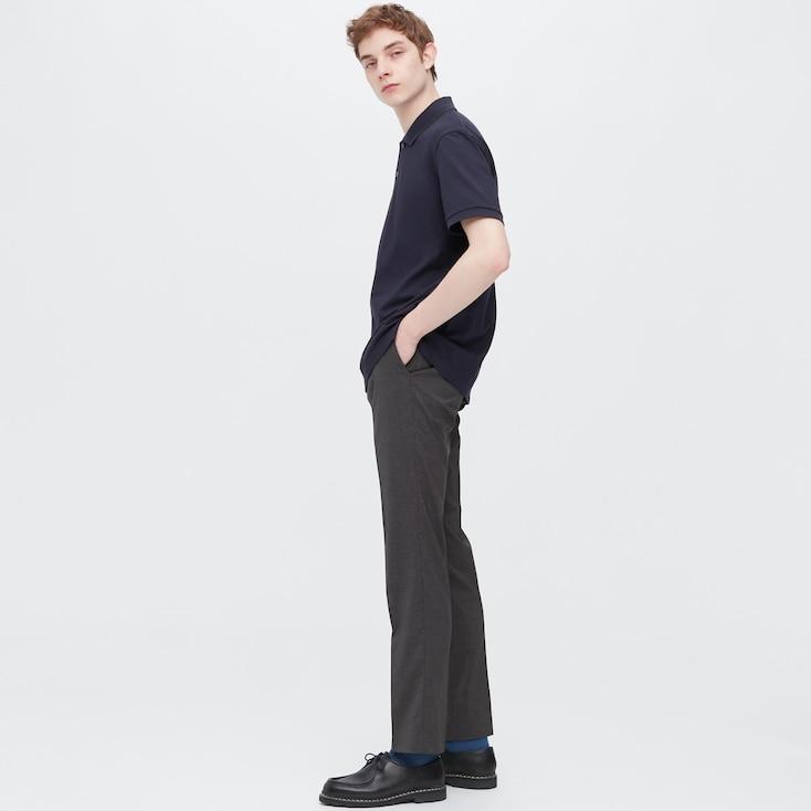 Men Ultra Light Pants (Wool-Like), Gray, Large