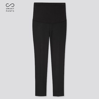 Women Maternity Ezy Ankle-Length Pants (Online Exclusive), Black, Medium
