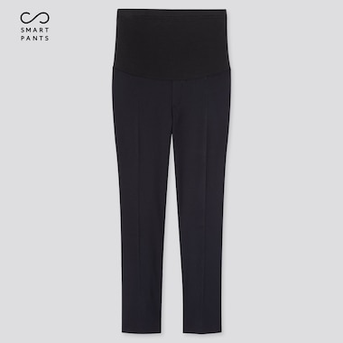 Women Maternity Ezy Ankle-Length Pants, Navy, Medium