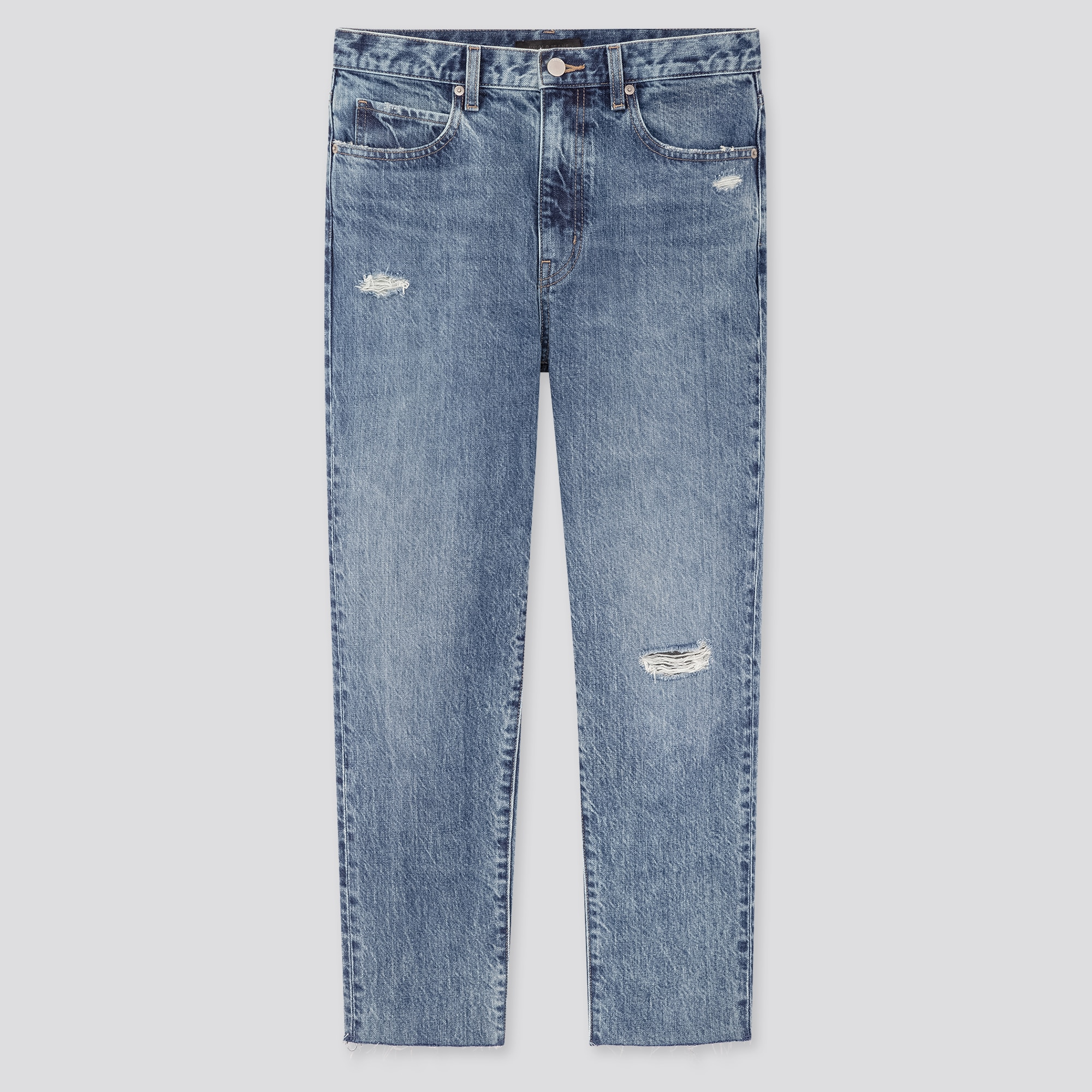Women Slouch Relaxed Fit Tapered Ankle Length Jeans
