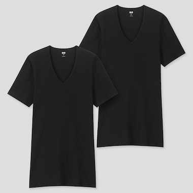 MEN 100% SUPIMA COTTON SHORT SLEEVED T-SHIRTS (TWO PACK)