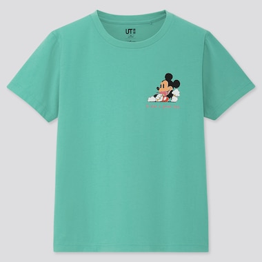 KIDS DISNEY STORIES UT (SHORT-SLEEVE GRAPHIC T-SHIRT), GREEN, medium