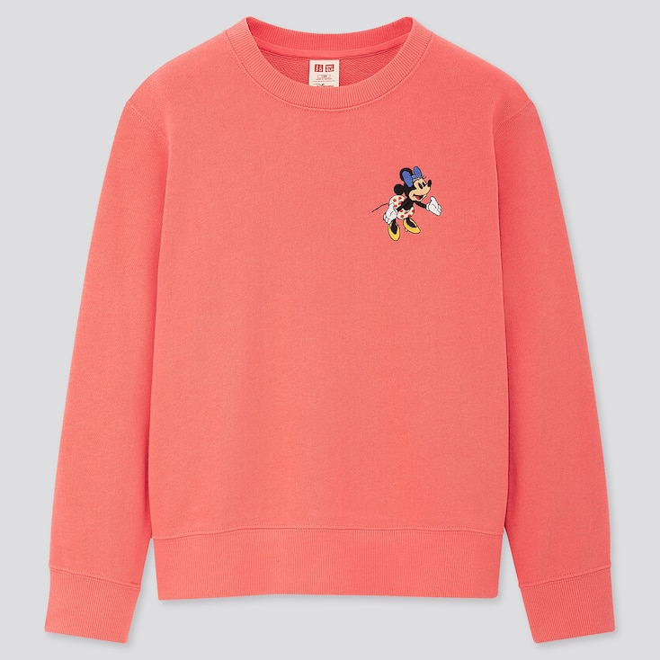 Kids Disney Stories Long-Sleeve Sweatshirt, Pink, Large