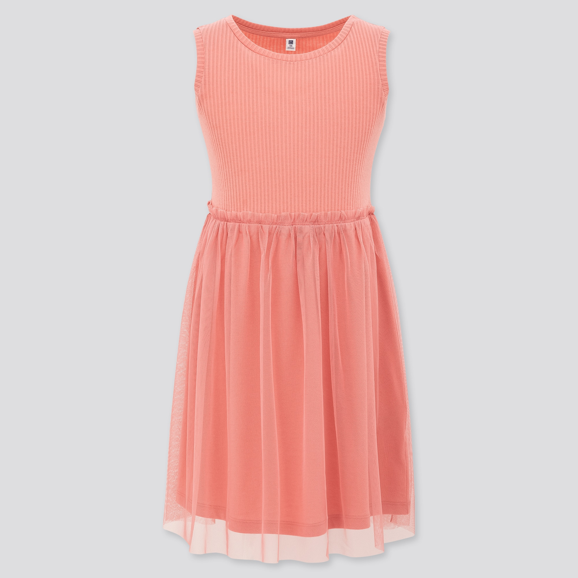 Girls Tulle Sleeveless Dress