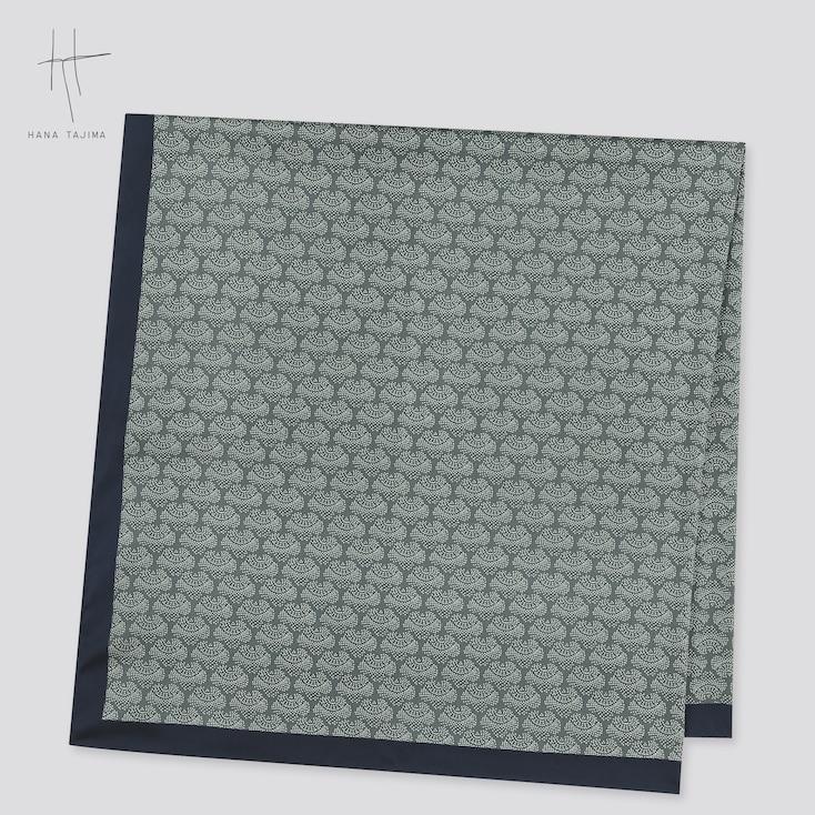 Women Square Stole (Hana Tajima) (Online Exclusive), Green, Large