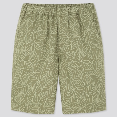 Kids Easy Shorts, Green, Medium