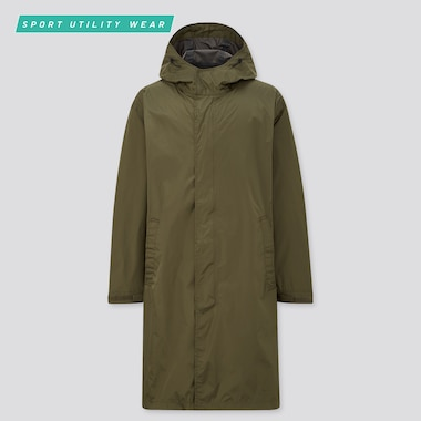 Men Lightweight Blocktech Coat, Olive, Medium