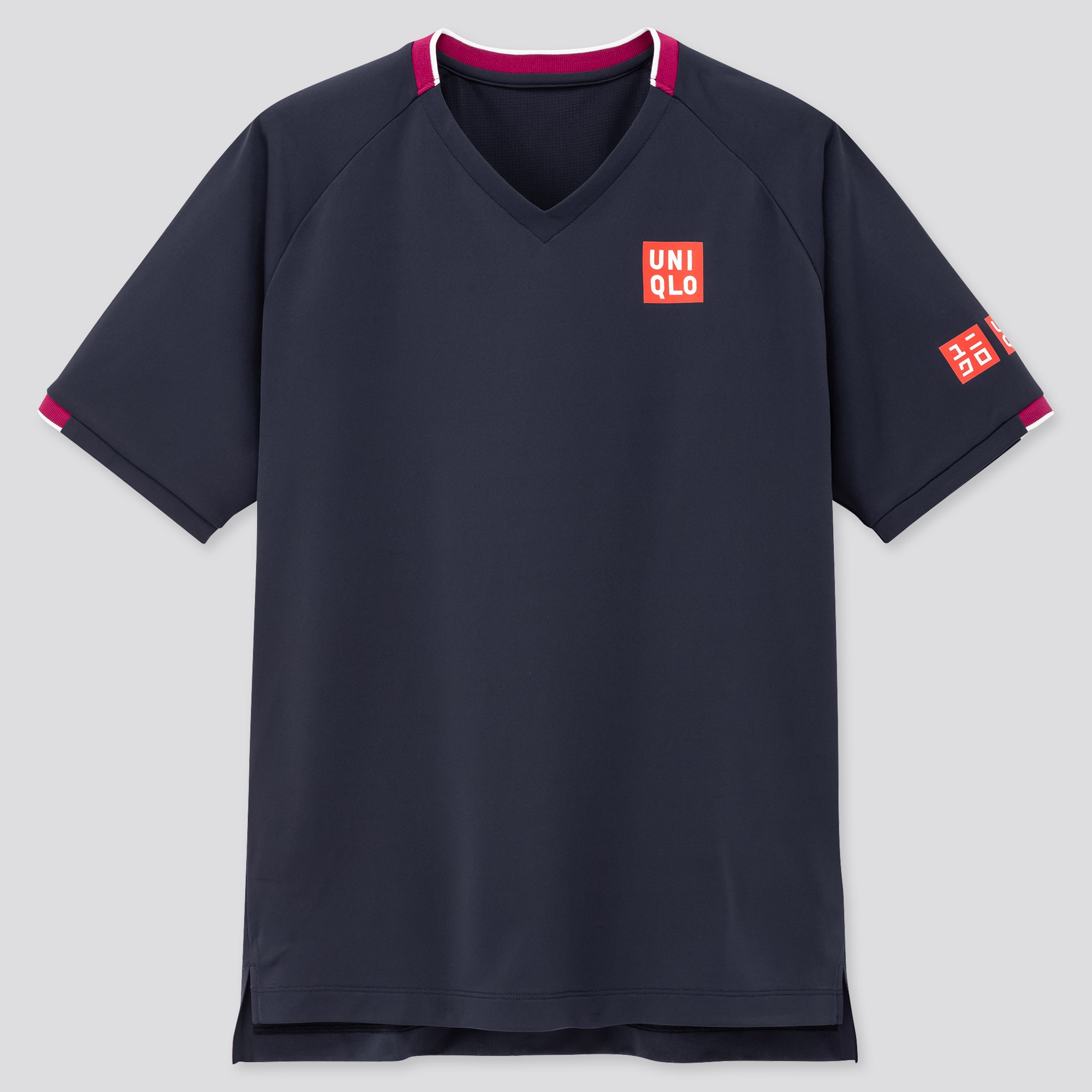 MEN DRY-EX V-NECK T-SHIRT (ROGER FEDERER 20AUS)