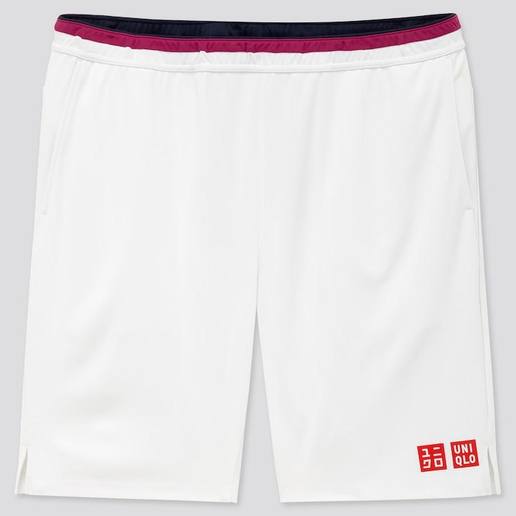 Men Dry Shorts (Roger Federer 20aus), White, Large