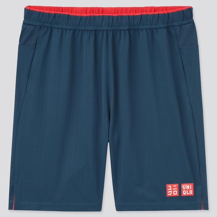 Men Dry Shorts (Roger Federer), Blue, Large