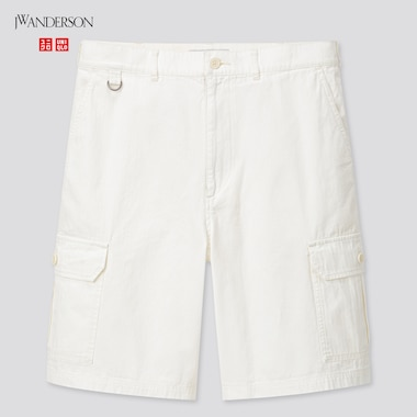 Men Cargo Shorts (Jw Anderson), Off White, Medium