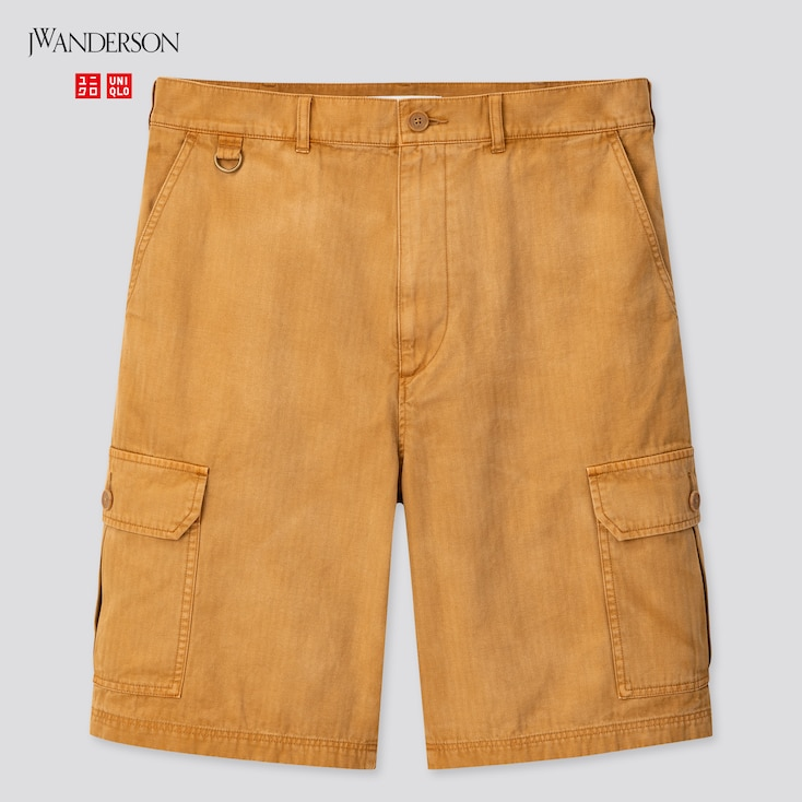 Men Cargo Shorts (Jw Anderson), Brown, Large